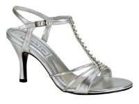 Anneka Silver sandal by TouchUps