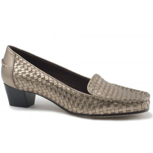 Trotters Heloise Pewter Metal at DesignerShoes.com