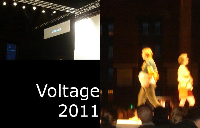 Annika Benitz's Fashions for Voltage 2011