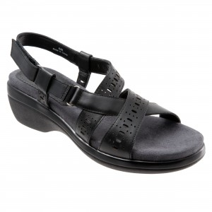 Trotters Shelby Black at AskTheShoeLady.com