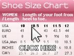 DesignerShoes.com Size Chart