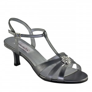 Dyeables Opal Pewter Metallic at DesignerShoes.com