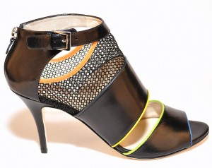 Takera Milan Black Leather at AskTheShoeLady.com