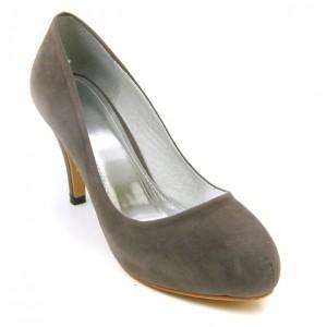 Barefoot Tess Bordeaux Grey at DesignerShoes.com