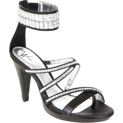 Montaege Talani Black w. Crystals at DesignerShoes.com
