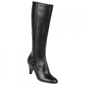 Naturalizer Barstowe Black Leather On Sale At DesignerShoes.com