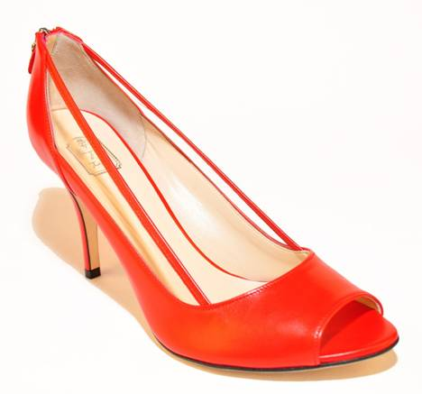 Takera Elena Coral Leather at DesignerShoes.com