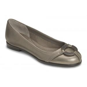 Aerosoles Rebecca Nickel Leather at DesignerShoes.com