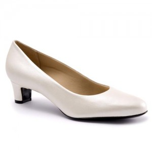 Trotters Janna White Pearl