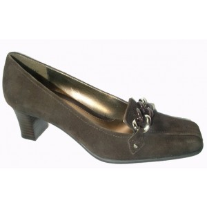 Bella Vita Katie Brown Suede at DesignerShoes.com