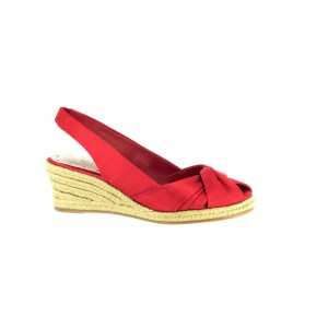 Bella Vita Sangria Red Silk at DesignerShoes.com