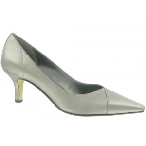 Bella Vita Wow Pewter Kidskin at DesignerShoes.com