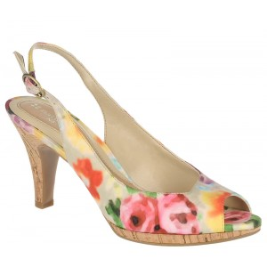 Naturalizer Ideal Multi Floral at DesignerShoes.com