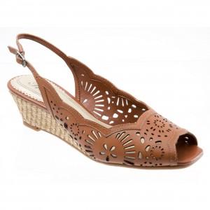 Trotters Melanie Cognac at DesignerShoes.com