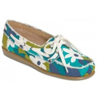 Soft Drink blue multi loafer by Aerosoles brand