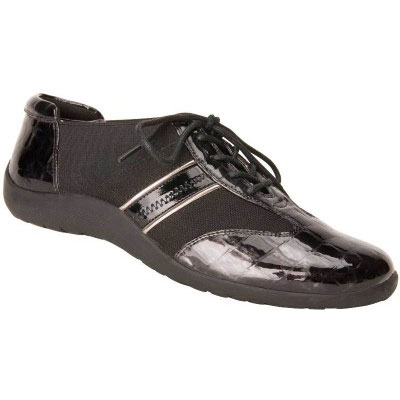 Ros Hommerson Nancy Black Combo Laceup