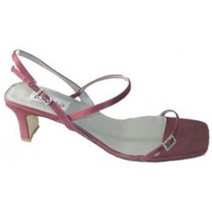 Dyeables Grandeur in Merlot, strappy dress sandal, $27.97.