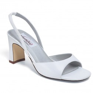Dyeables Elegance White slingback sandal,  $13.97.  Have it dyed or color it yourself!