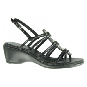Bella Vita Deidre Black Patent platform sandal.  $46.54.