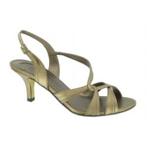 Bella Vita brand Sante dressy sandal in Bronze.  $48.30