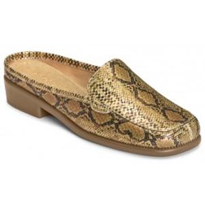 Aerosoles brand Duble Down in Gold Snake.  $49.99